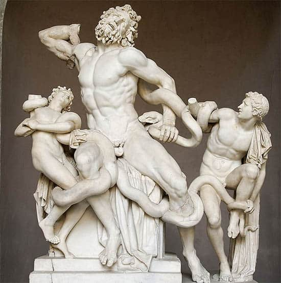 Top 12 esculturas gregas antigas
