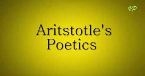 Poética, Aristóteles